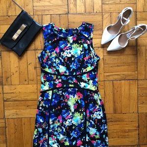 Nicole Miller Floral Sheath Dress